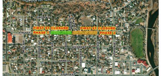 First Street Closure Beginning May 4th, 2021